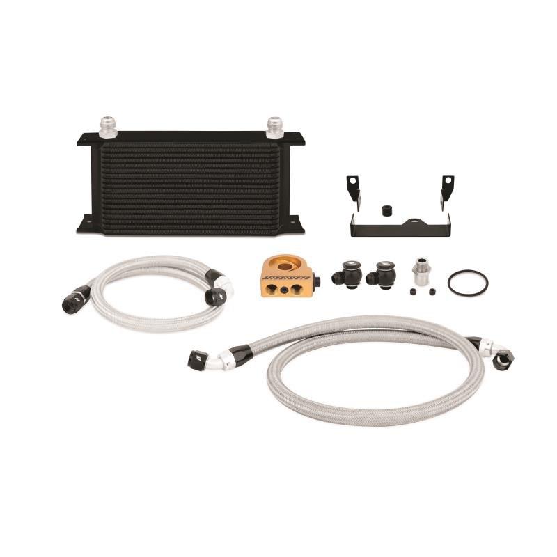 Zestaw chłodnica oleju MISHIMOTO Subaru WRX/STi 2006-2007 Thermostatic Black - GRUBYGARAGE - Sklep Tuningowy